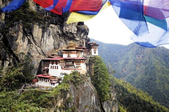 Le monastère de Taktshang au Bouthan