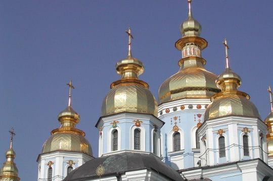 Monastère Saint-Michel-au-Dôme-d'Or en Ukraine