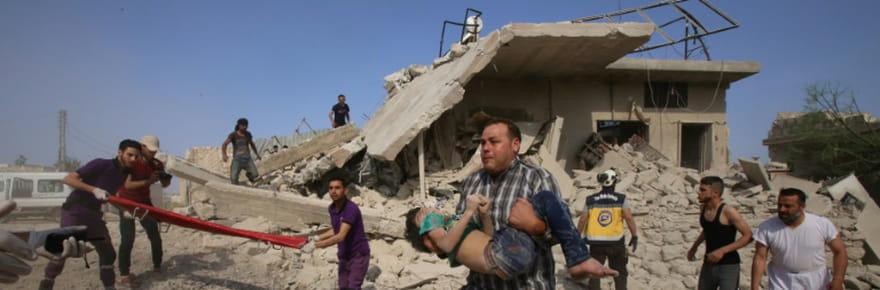 Syrie: 7morts dont des enfants dans de nouveaux raids du régime sur Idleb
