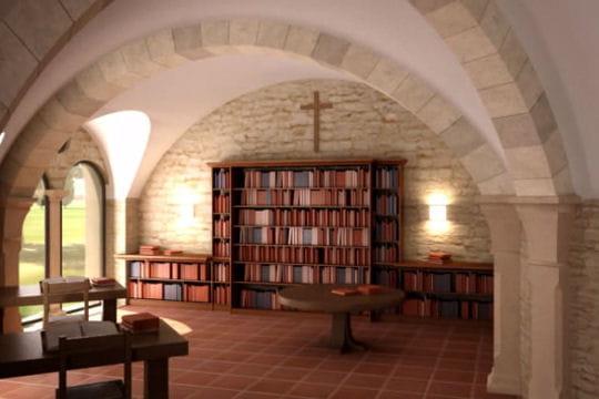 Une future salle d'étude