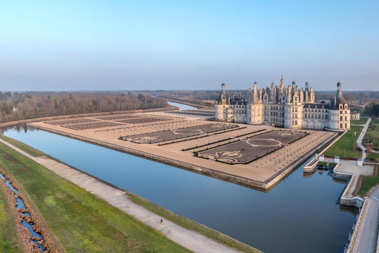 Coloriage Chateau De Chambord.Le Chateau De Chambord A Retrouve Ses Jardins A La Francaise