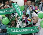 supporters de carquefou lors del'édition2008.