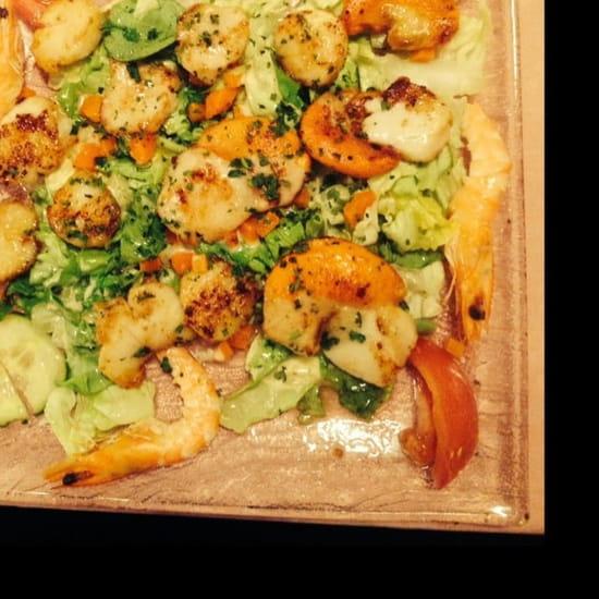 Entrée : Le Doyen  - Salade de saint Jacques  -