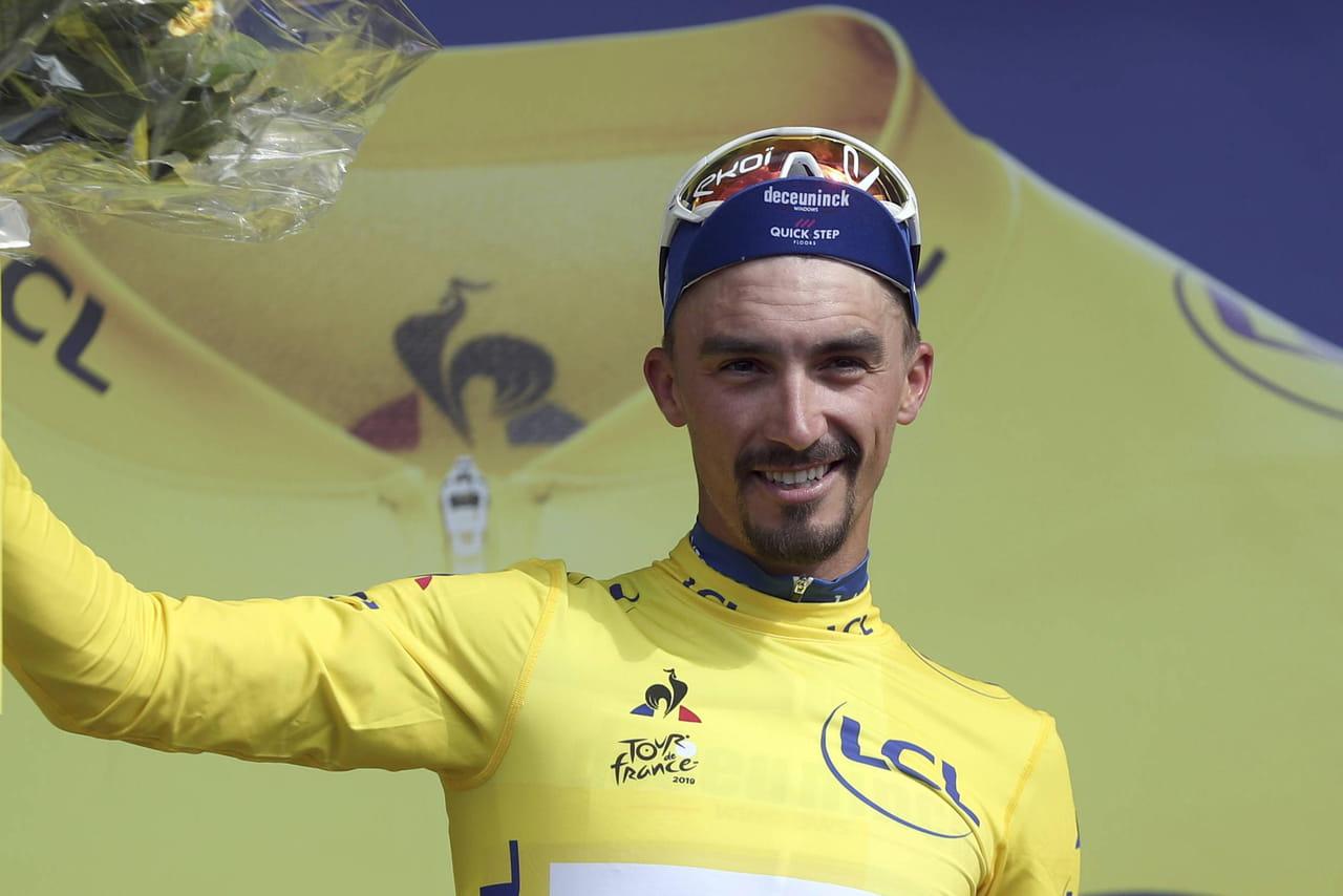 Tour de France: l'étape pour De Gendt, le jaune pour Alaphilippe, le classement