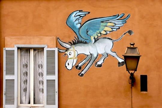 Pégase à Rome