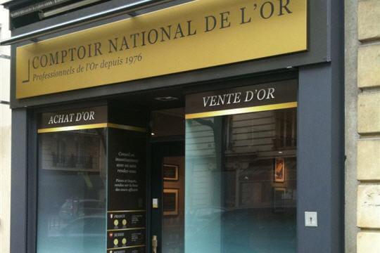 Comptoir national de l'or donne un coup de jeune aux boutiques numismates