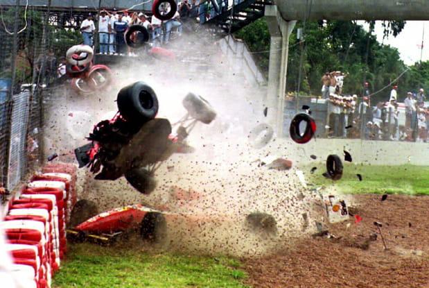 Michael Andretti à Interlagos (Brésil) en 1993
