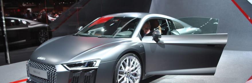 Nouvelle Audi R8 : un V10 piloté via un cockpitvirtuel