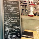 Restaurant : Le Rouge Ardoise  - La carte du Rouge Ardoise  -