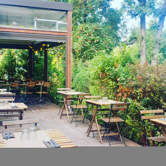 Restaurant : La Terrasse du Jardin  - Terrasse -   © Terrasse du Jardin