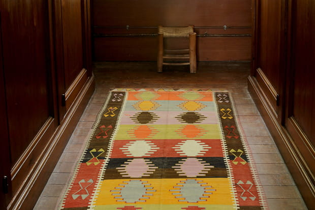 Un tapis en longueur