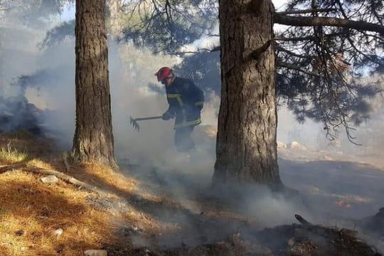 Incendie en Corse (Balagne): les images, le bilan des dégâts