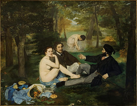 Manet, ses oeuvres les plus marquantes