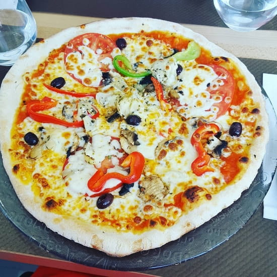 Plat : L'Origan  - Pizza quatre saisons -