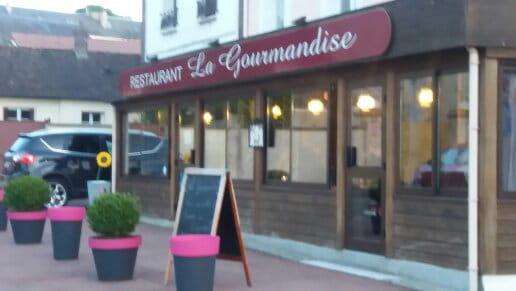 Restaurant : La Gourmandise   © restaurant la gourmandise a la loupe