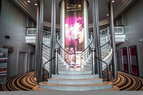Restaurant : Le QG  - Entrée du Casino -   © Restaurant le QG