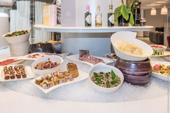 Restaurant : Le Servan  - Voici le buffet du restaurant Le Servan -   © Golden Tulip Sophia