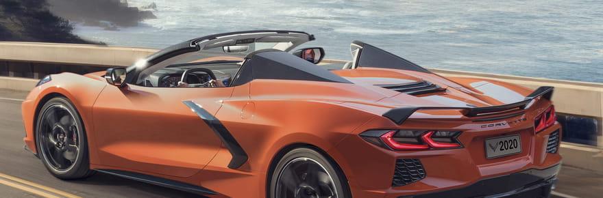 Nouvelle Corvette C8: la version cabriolet dévoilée! [photos, infos]