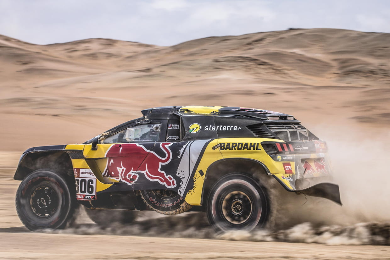 dakar 2019 derni re chance pour loeb la 5e tape en direct classement. Black Bedroom Furniture Sets. Home Design Ideas