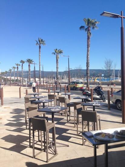 L'Oyster Bar  Coquillages  - Terrasse extérieure -