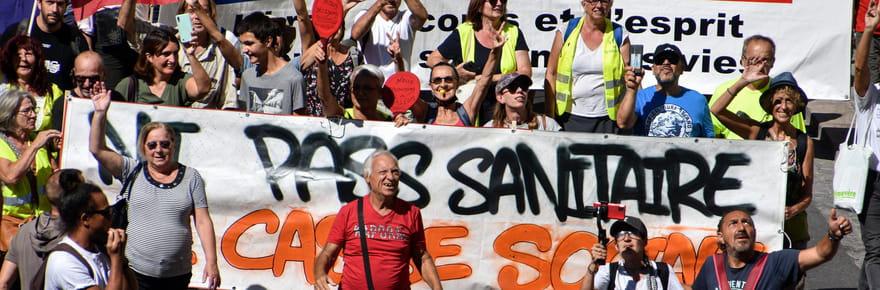 Pass sanitaire: des manifestations ce samedi, mais où?