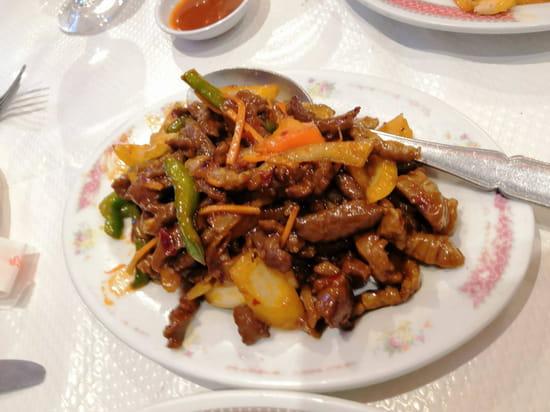 Plat : Le Palais de Pekin  - B½uf à la sauce piquante -