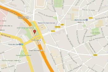 Radar du boulevard p riph rique porte des lilas paris - Clinique des sports porte des lilas ...