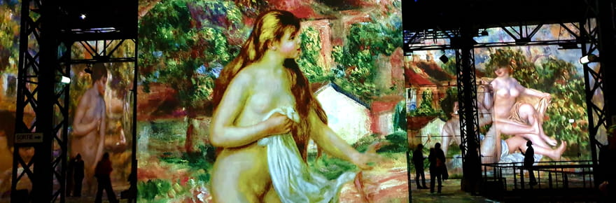 Monet, Renoir... Chagall, Voyages en Méditerranée à l'Atelier des Lumières
