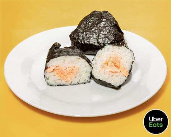 Plat : Gili Gili  - Onigiri saumon -   © Uber Eats