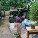 Le Jardin d'Arthus  - terrasse dans le jardin -