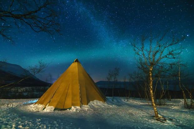 Le parc National d'Abisko en Suède