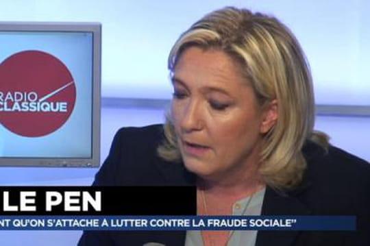 """Marine Le Pen: """"l'influence juive deValls"""" est incompréhensible"""