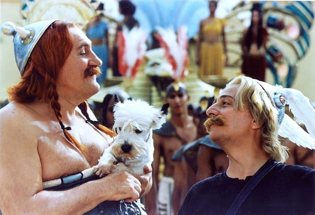 Astérix et Obélix s'en prennent à Cléopâtre