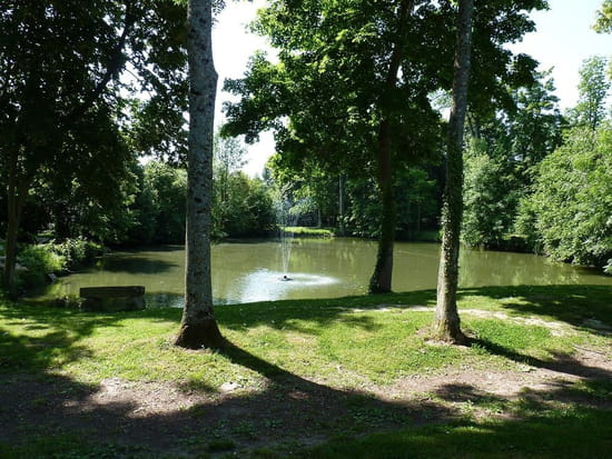Hostellerie du Châtel  - l'étang -