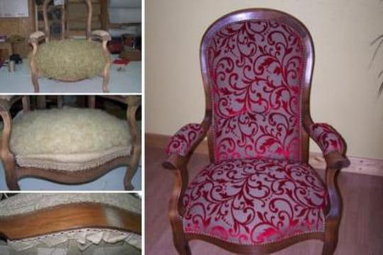 Restaurer un fauteuil Voltaire
