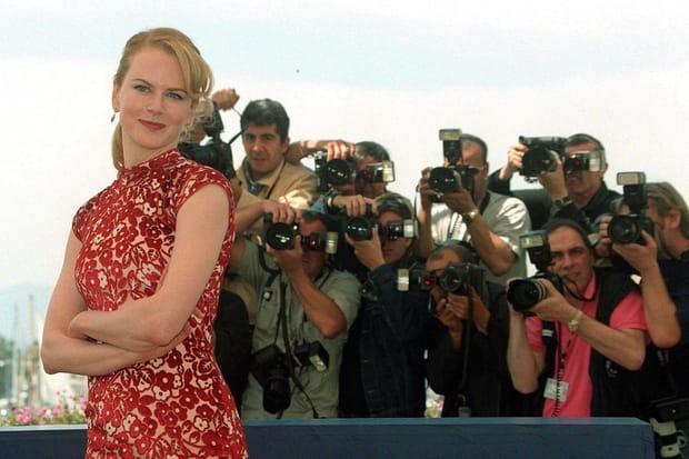 Nicole Kidman présente Moulin Rouge à Cannes en 2001