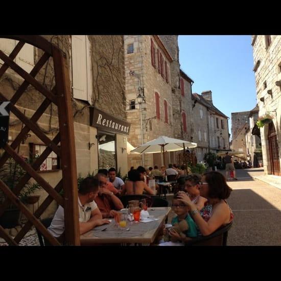 Restaurant : Saveurs des Halles  - Agréable terrasse ombragée ! -