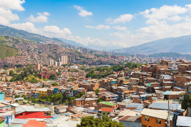 Medellin, en Colombie