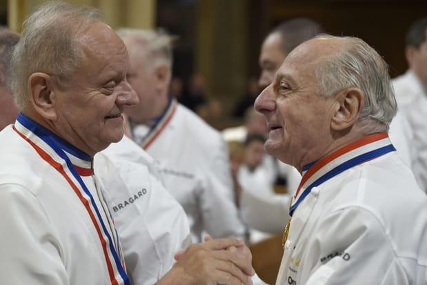 Joel Robuchon et Pierre Orsi