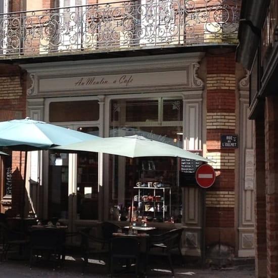 Restaurant : Au Moulin à Café  - Devanture / terrasse -