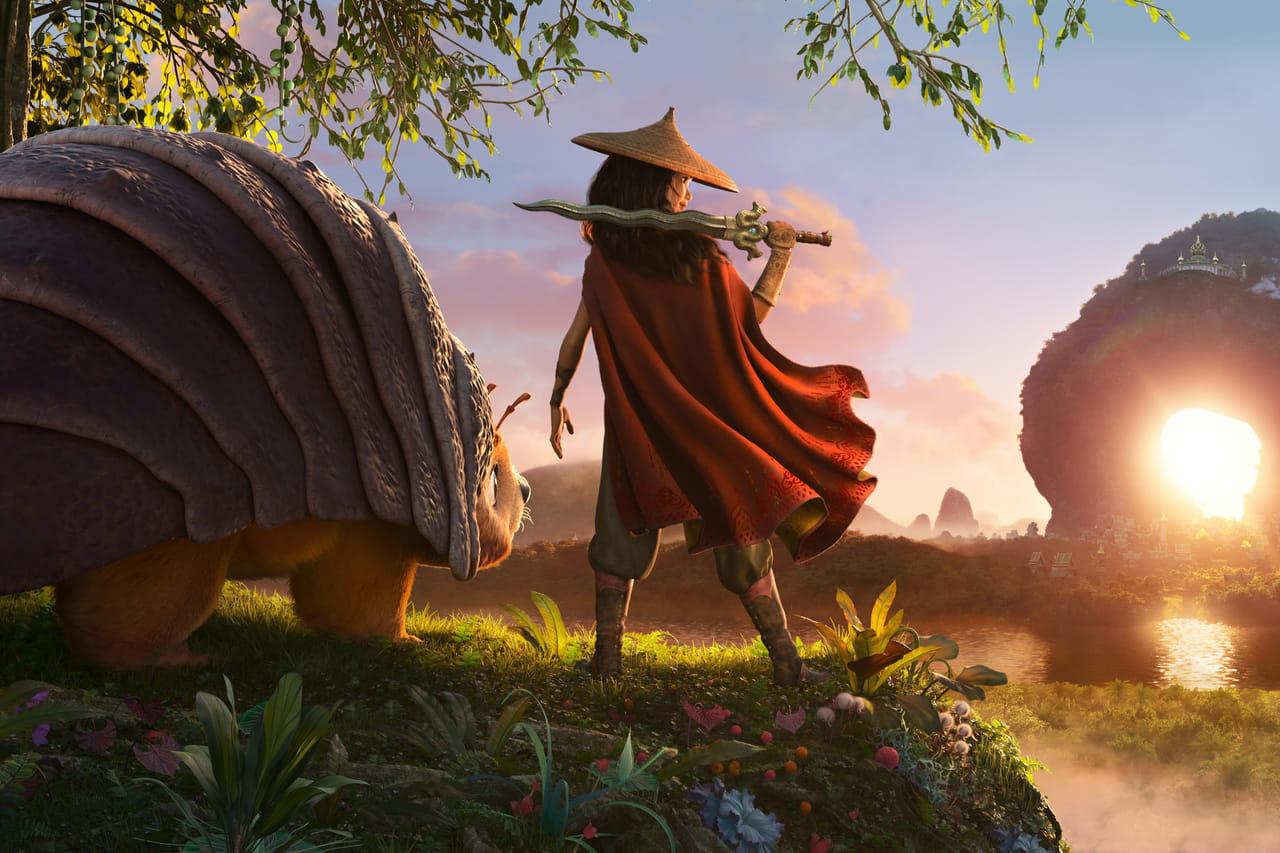 Raya et le dernier dragon: première bande-annonce pour le prochain Disney