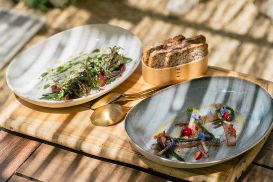 Entrée : La Chassagnette  - Bon appétit ! -   © La Chassagnette