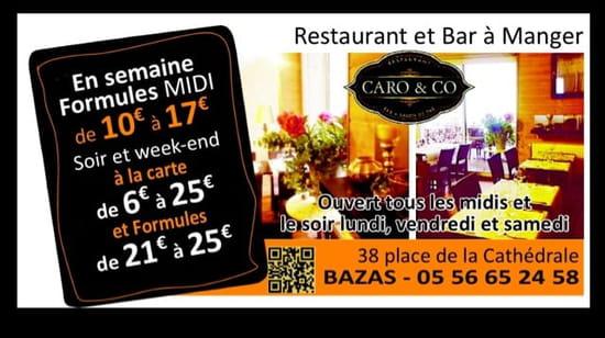 Restaurant : Restaurant Caro & Co