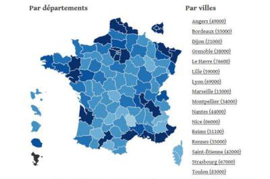 Candidats auxdépartementales 2015: laliste, canton par canton