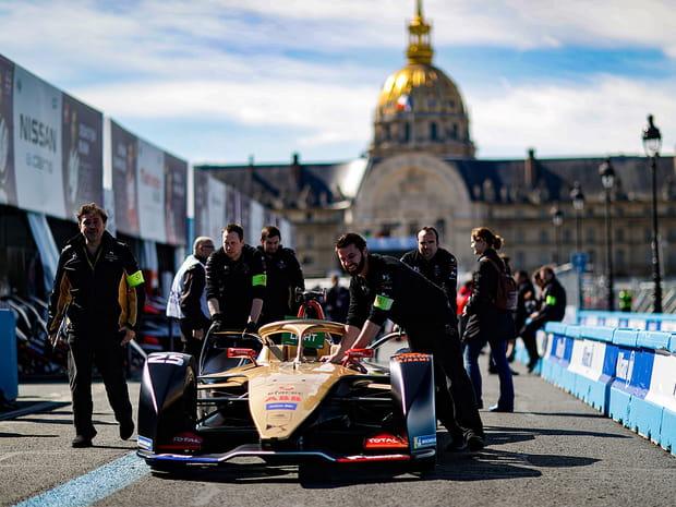 Les plus belles images de la Formule E à Paris