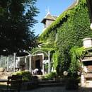 Domaine du golf de Mezeyrac  - entrée du  restaurant -