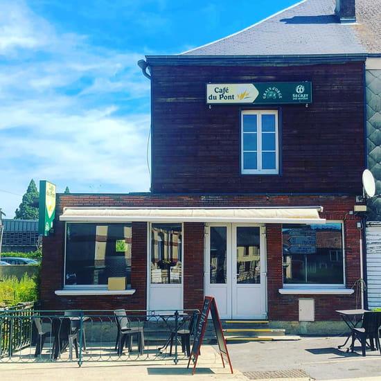 Restaurant : Restaurant du Café du Pont  - Facade de l'établissement -   © 1