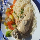 Plat : Le Hétier  - Poule au pot -