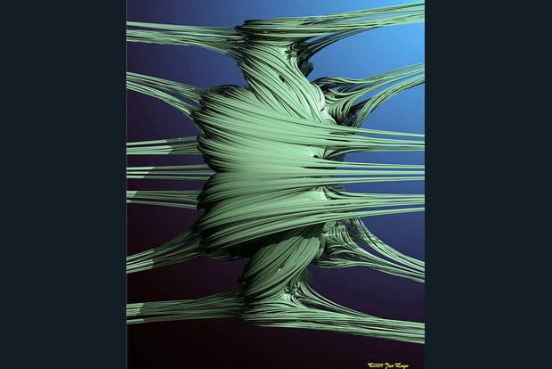 Une torsion fractale