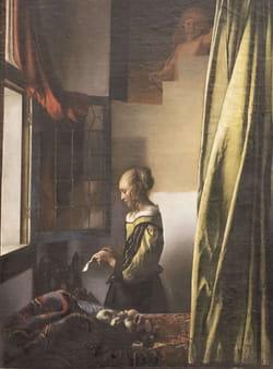 Vermeer de Delft - La liseuse à la fenêtre